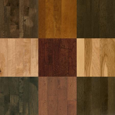 Wooden flooring textures